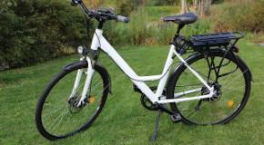 Le vélo électrique n'aimait pas les côtes …