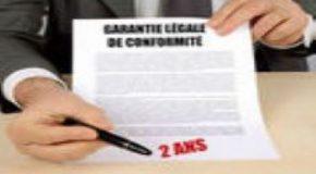 L'entreprise «oublie» les règles de garantie légales