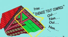 Pour obtenir une prime énergie, une débauche d'énergie…